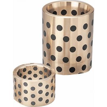 overall length: Oiles America Corporation SPB-506280 Plain Sleeve & Flanged Bearings