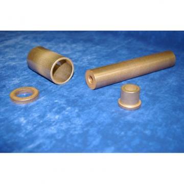 overall length: Bunting Bearings, LLC AA120403 Plain Sleeve & Flanged Bearings