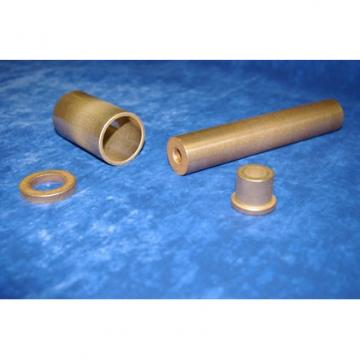 overall length: Bunting Bearings, LLC FF060402 Plain Sleeve & Flanged Bearings